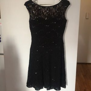 Lauren Ralph Lauren Lace Sequin Dress